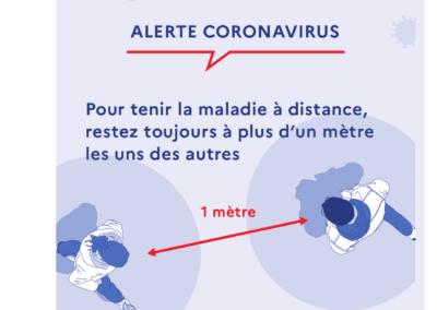 Covid-19 Distance sanitaire